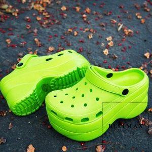 NEW🔥Light-Weight Wedge Platform Heel Sandal Clogs
